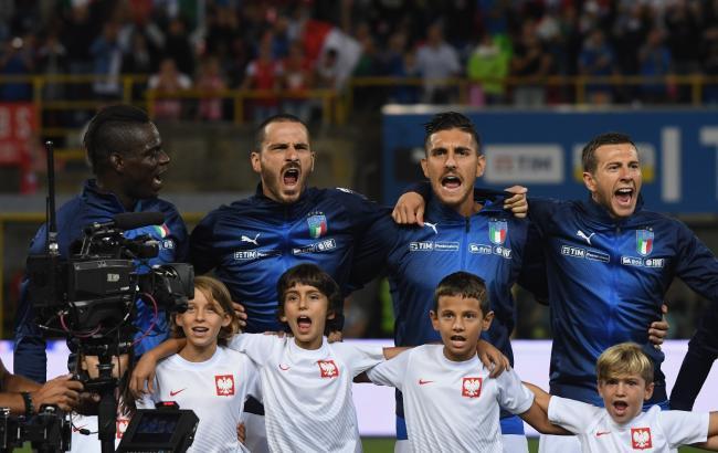 Фото: игроки сборной Италии (vivoazzurro.it)