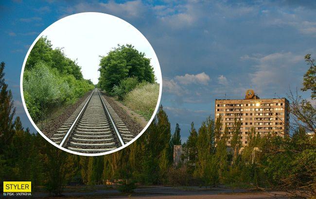 Укрзализныця построила путь в Чернобыльскую зону отчуждения и готовится запустить поезд