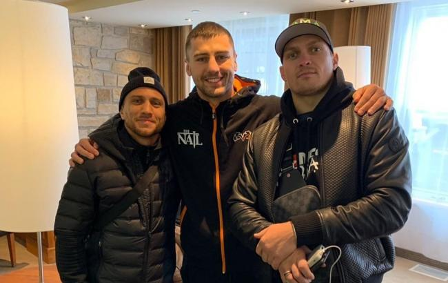 Гвоздик вместе с Усиком посетит бой Ломаченко в Нью-Йорке