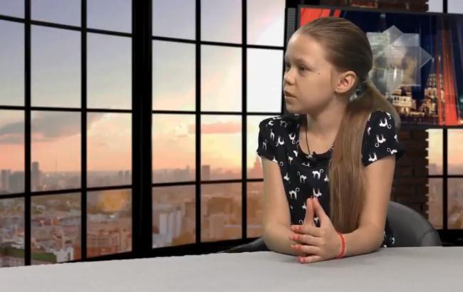 У Росії маленька дівчинка з Макіївки пояснила, у чому різниця між РФ та Україною