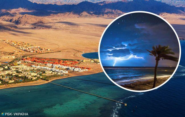 Аномальное явление: ливень затопил отели на египетском курорте