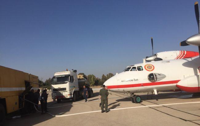 Фото: украинские спасательные самолеты