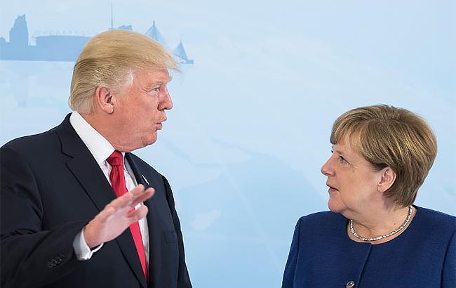 Трамп і Меркель обговорили ситуацію в Україні