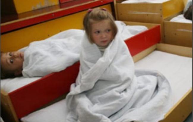 Фото: В інтернаті діти замерзають