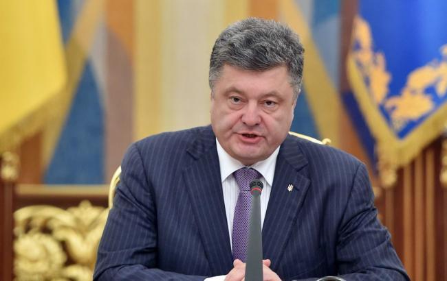 Порошенко звернувся до Путіна з вимогою виконати Мінські домовленості і звільнити українських заручників