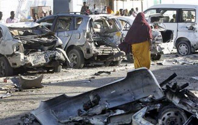 Фото: наслідки теракту в Сомалі