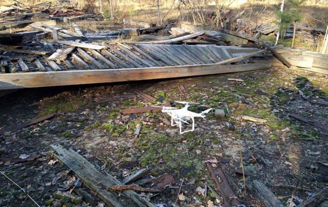 В Ичне на территории арсенала обнаружили беспилотник