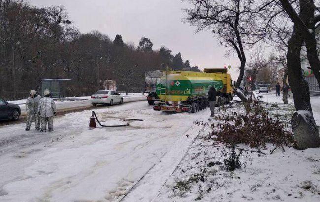 В Киевской области за пять часов произошло около 100 ДТП
