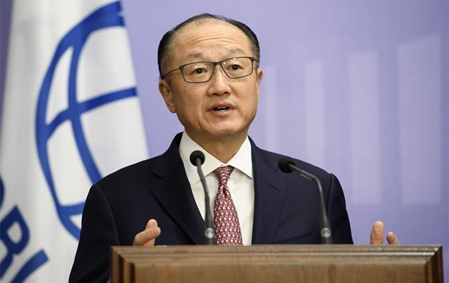 Фото: президент Группы Всемирного банка Джим Йонг Ким (kmu.gov.ua)
