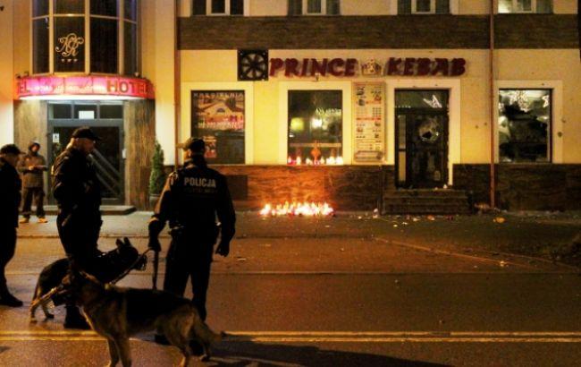 ВПольше убийство молодого человека вкафе-кебаб спровоцировало массовые беспорядки