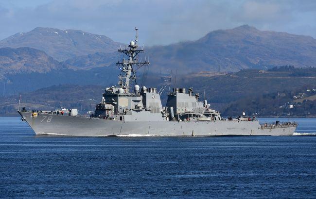Американський есмінець USS Porter увійшов в Чорне море