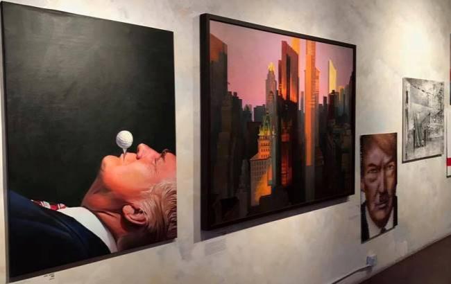 Фото: Портрет Трампа
