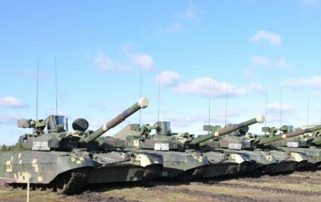 Україна вирішила направити призначені для Конго танки на забезпечення сил АТО