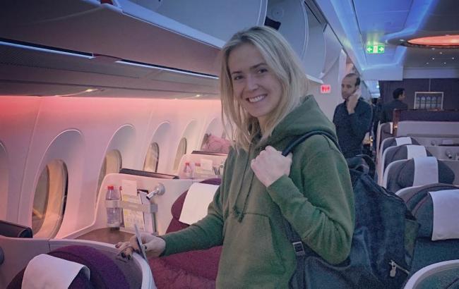 Свитолина вылетела в Австралию на первый турнир сезона