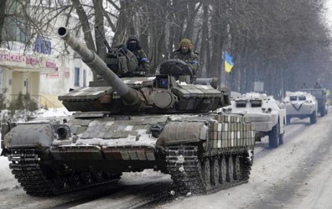 Українські військові сьогодні не вели активних бойових дій у районі Донецька, - РНБО