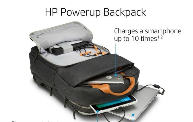 HP розробила рюкзак для зарядки гаджетів