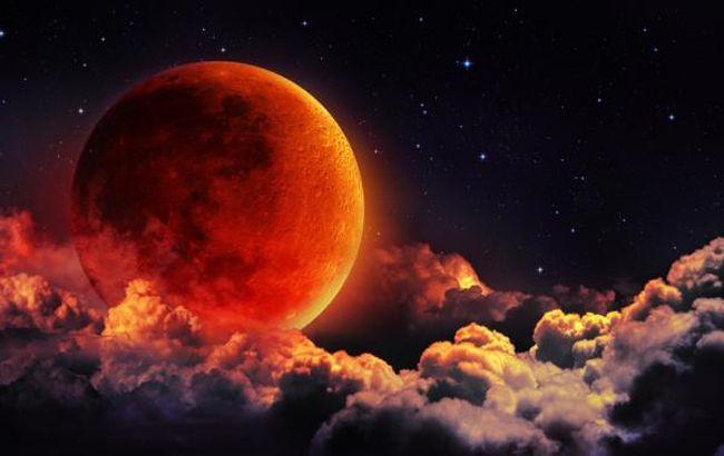 """""""Кровавая луна"""": где и когда ее можно будет увидеть"""
