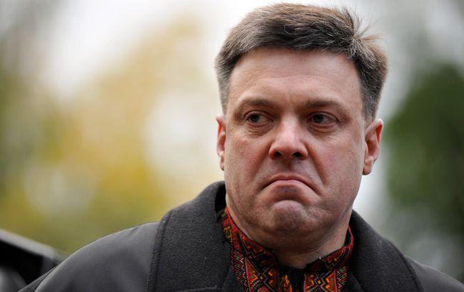 МВД обжалует судебное решение по иску Тягнибока