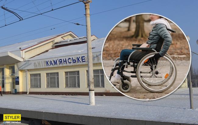 """""""Начал выбрасывать вещи"""": под Днепром таксист нагрубил девушке с инвалидностью"""