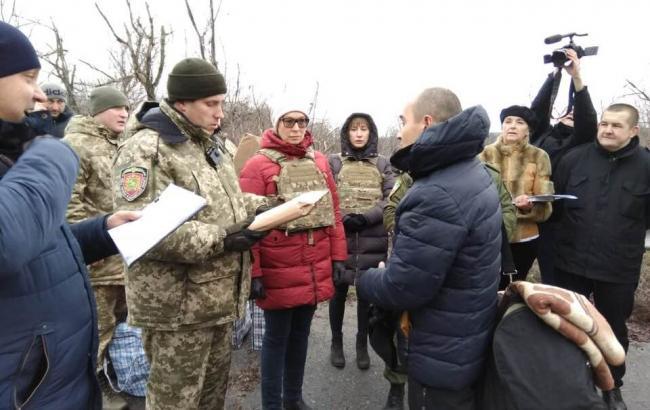 На підконтрольну Україні територію перевели понад 40 засуджених з ОРЛО