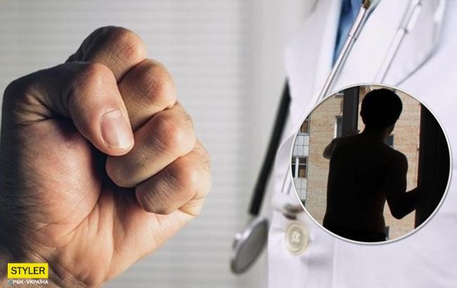 Навел ужас на все отделение: в Ровно пациент избил медиков и выпрыгнул из окна