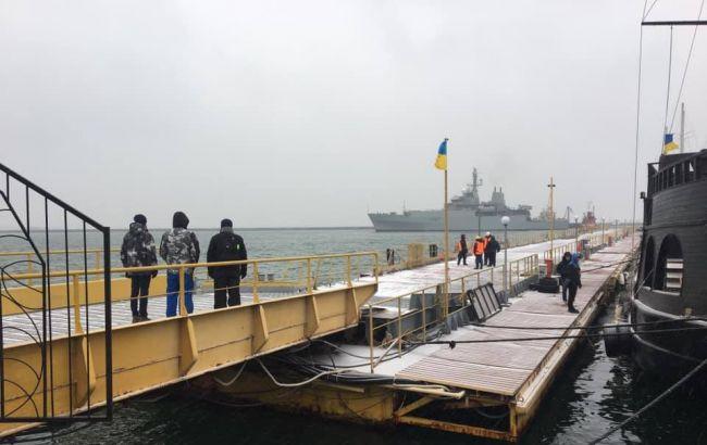В Одессу прибыл корабль НАТО