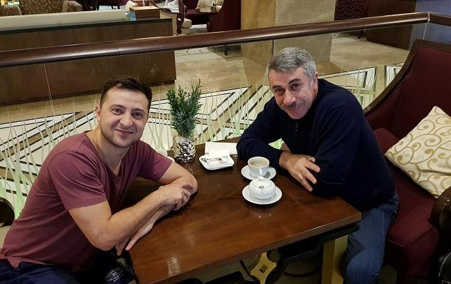 В преддверии выборов: известный педиатр Комаровский присоединится к команде Зеленского?