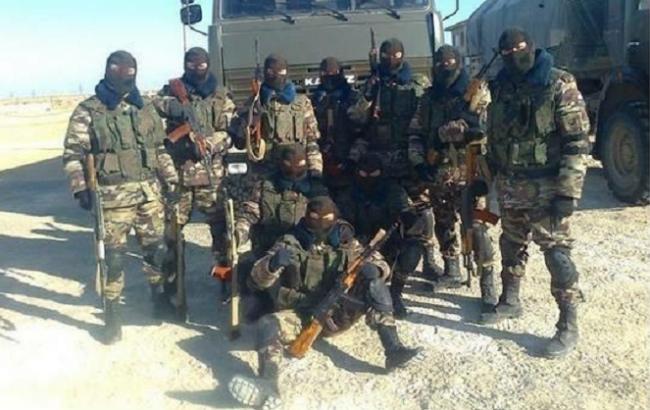Фото: російські військові у Сирії