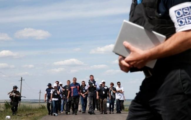 На Донбасі працюють 112 з 261 спостерігачів спецмісії ОБСЄ в Україні, - МЗС України