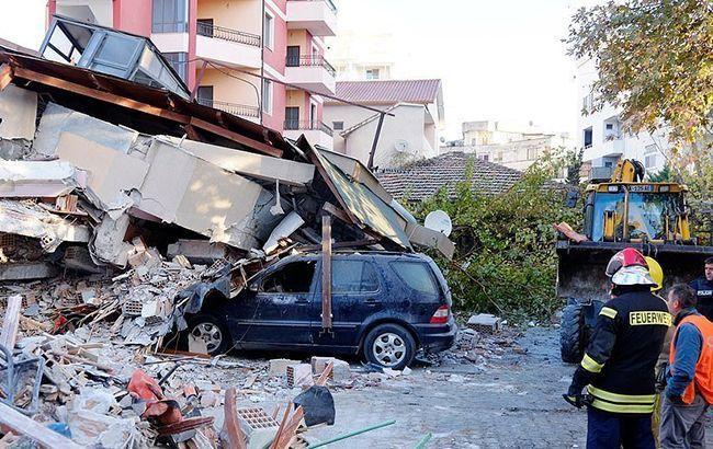 Кількість жертв землетрусув Албанії наближається до 50