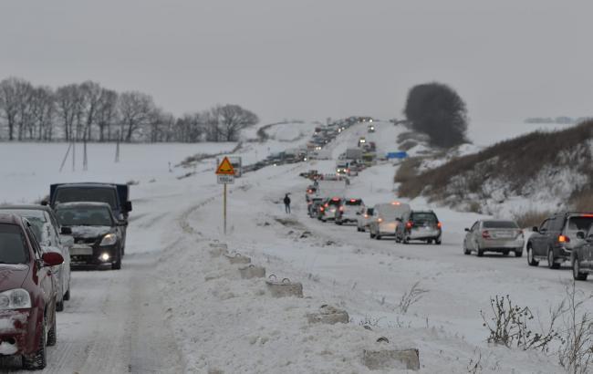Въезд в Полтавскую область закрыли для всех видов транспорта