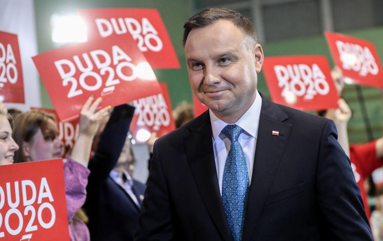 Дуда побеждает на выборах президента Польши, - экзитпол