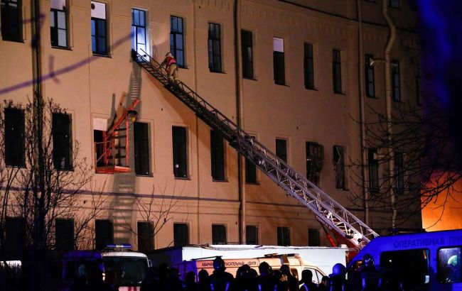 В Санкт-Петербурге обрушилось здание университета