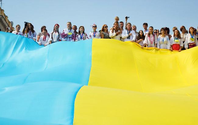 Фото: Украинцы (Александр Гиманов / УНИАН)
