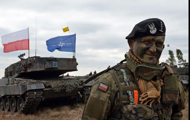 Фото: тренировки НАТО