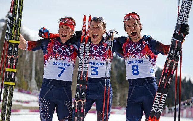 Русских лыжников лишат наград Олимпиады