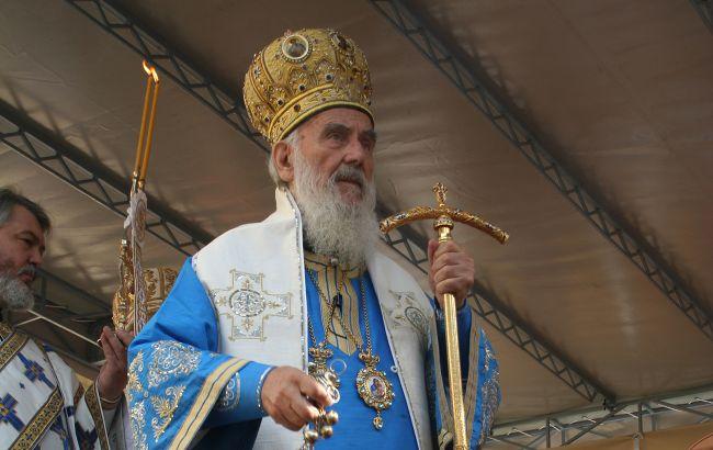 Помер патріарх Сербський Іриней