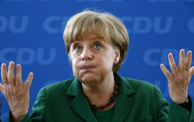 Фото: 48% німців абсолютно не згодні з політикою Меркель