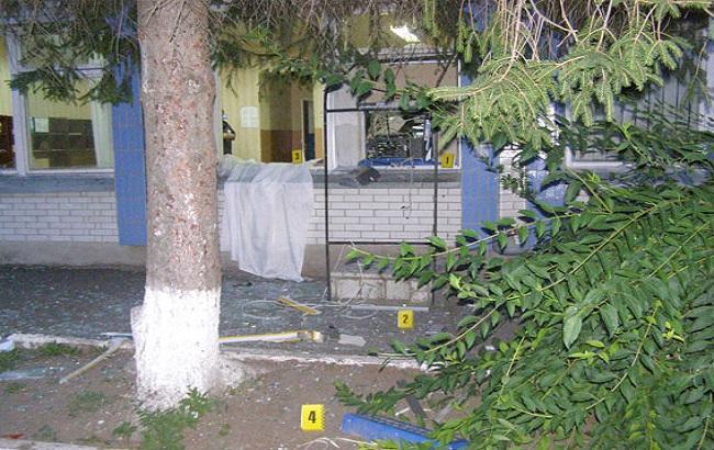 Фото: у селі Покровському підірвали банкомат