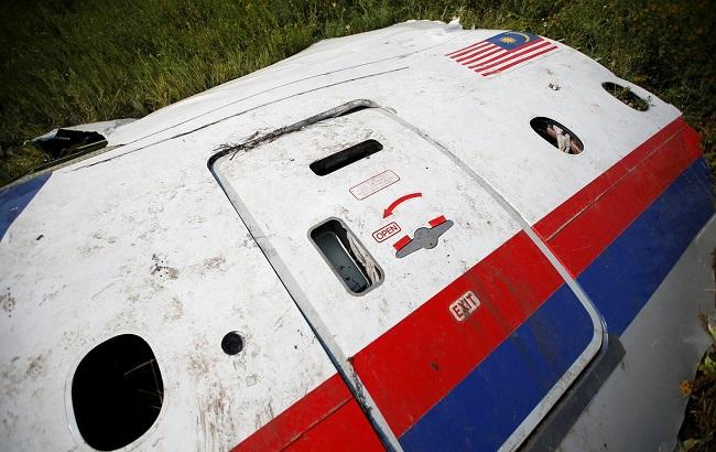 Фото: літак рейсу МН17 Малазійських авіаліній