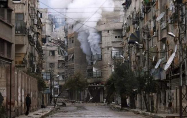 Фото: в Алеппо подозревают применение ядовитого газа