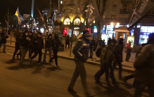 Фото: активісти рушили в бік Бессарабської площі