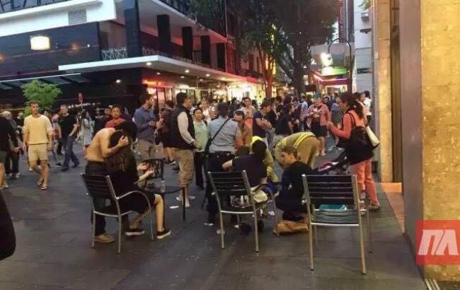 Фото: взрыв газа в Сиднее