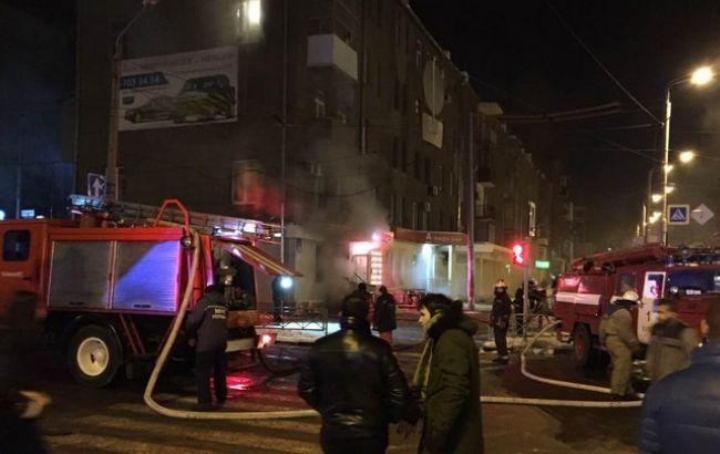 Фото: у результаті вибуху в Харкові постраждали чотири людини
