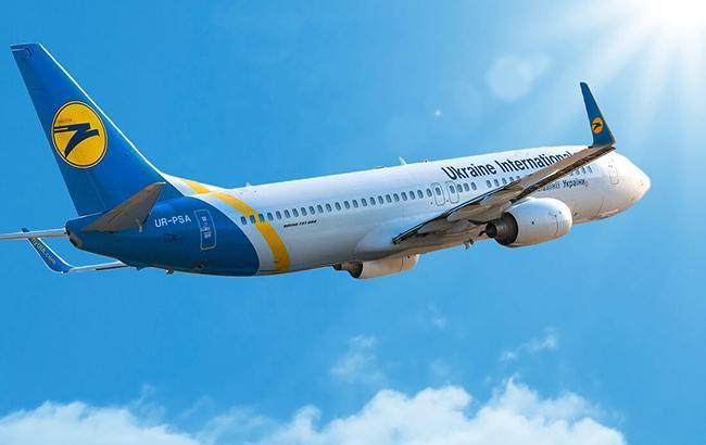 Фото: самолет МАУ (flyuia.com)
