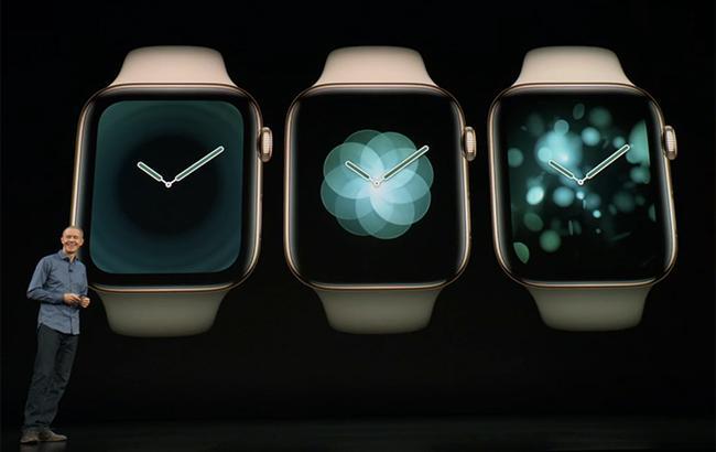 Apple презентовала Apple Watch Series 4