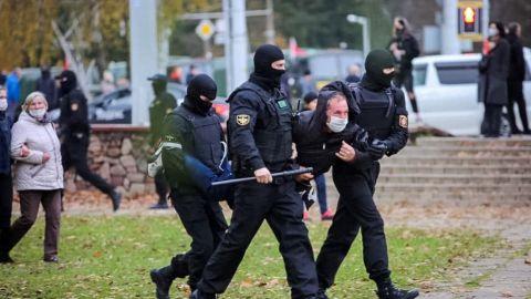 Протесты в Беларуси 1 ноября - задержали почти 300 человек | РБК Украина