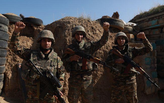 Азербайджан зайняв нові позиції в Нагірному Карабасі