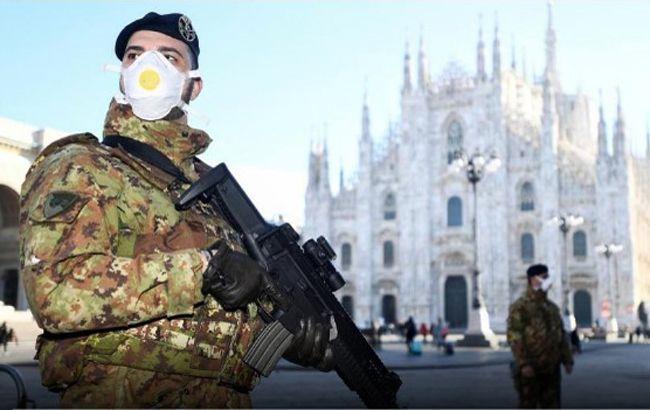 В Італії кількість жертв коронавірусу перевищила тисячу людей