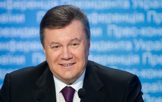 ВУкраинском государстве начнут рассматривать дело олишении Януковича звания президента
